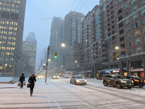 Change the Way you Insure with Esurance Insurance! — Winter in Toronto
