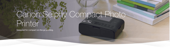 TELUS Holiday Gift Guide—Canon Selphy Compact Photo Printer Header
