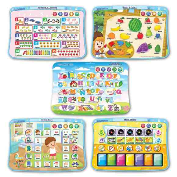 The Casey Palmer, Canadian Dad Christmas Gift Guide for... Kids!—VTech Touch & Learn Activity Desk Deluxe—Activity Cards