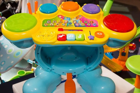The Casey Palmer, Canadian Dad Christmas Gift Guide for... Kids!—VTech Zoo Jamz Stompin' Fun Drums