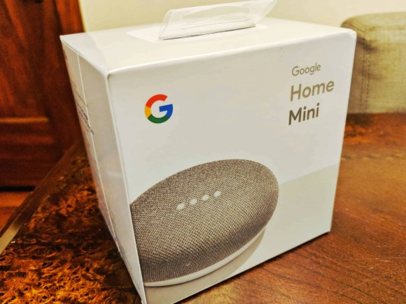 The Casey Palmer, Canadian Dad Christmas Gift Guide... for Grown-Ups!—Google Home Mini