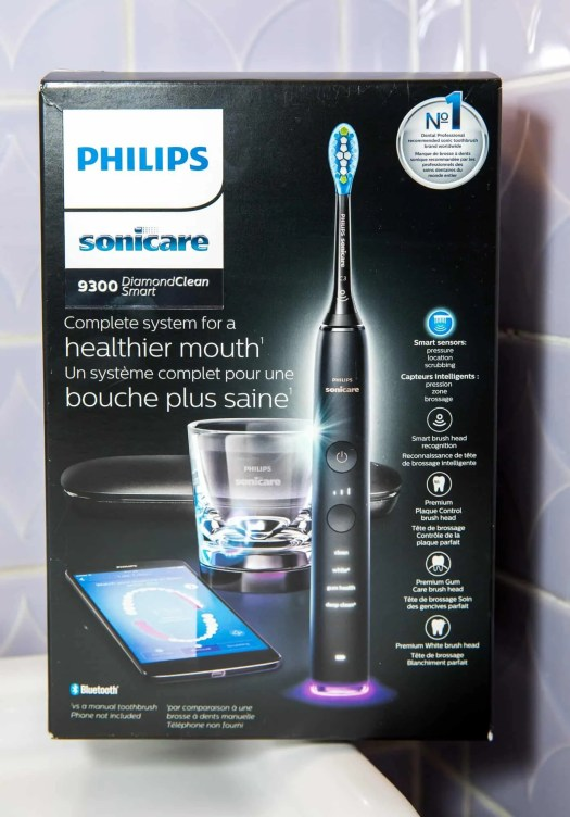 The Casey Palmer, Canadian Dad Christmas Gift Guide... for Grown-Ups! — Philips Sonicare 9300 DiamondSmart Clean — Packaging