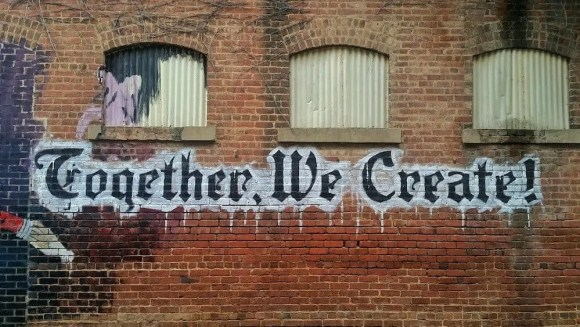 The 2017 100 — 31 Successes. — Together We Create Wall Mural