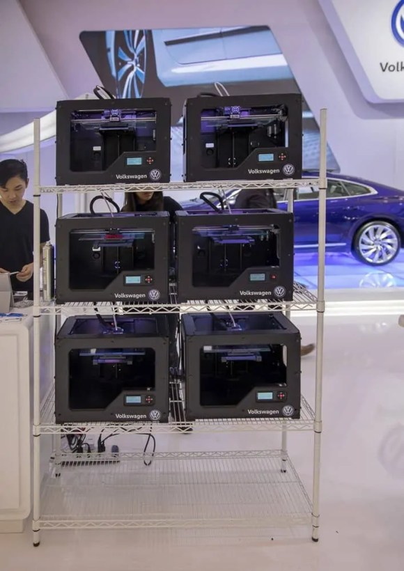 Leave All the Tongues Wagging with a Shiny Volkswagen!—3D Printing Station