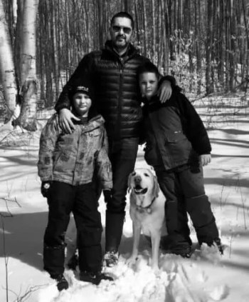 Casey Palmer Presents - An Evening with Yannick — Yannicks, Sons and Dog in the Winter