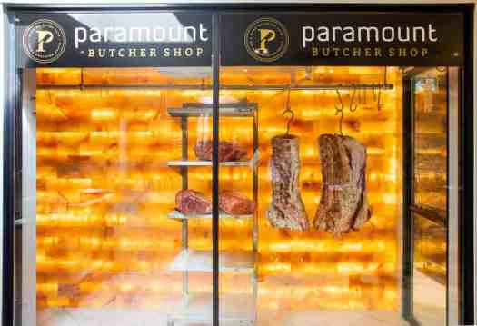 Get Meat That's Sure to Pop at the Paramount Butcher Shop — Himalayan Salt Wall