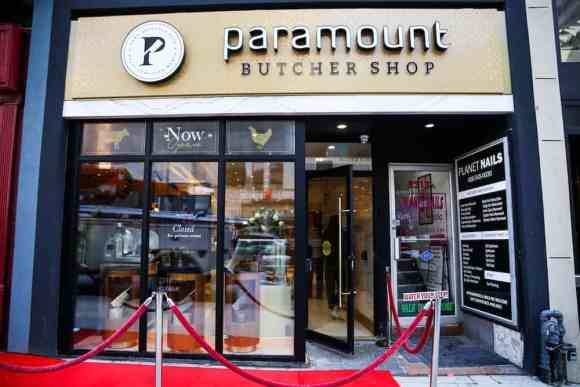 Get Meat That's Sure to Pop at the Paramount Butcher Shop—Outside Shot