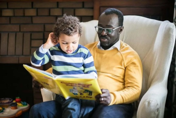 Why Father's Day Isn't Mother's Day II—An Exercise in Fatherhood by Casey E. Palmer—Reading to My Eldest