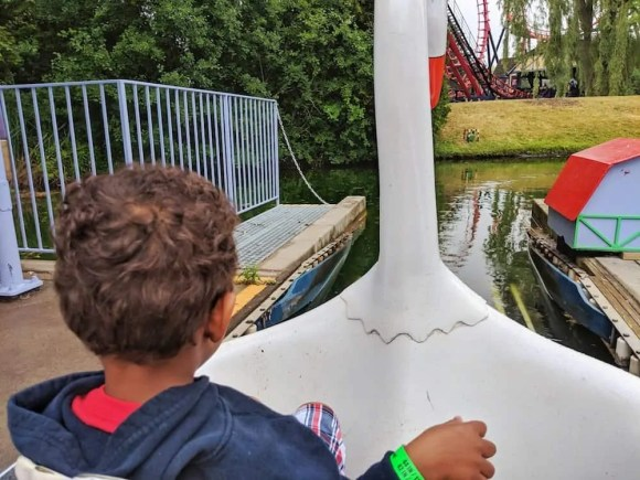 Make GREAT Plans at Canada's Wonderland — A Relaxing Time on Swan Lake