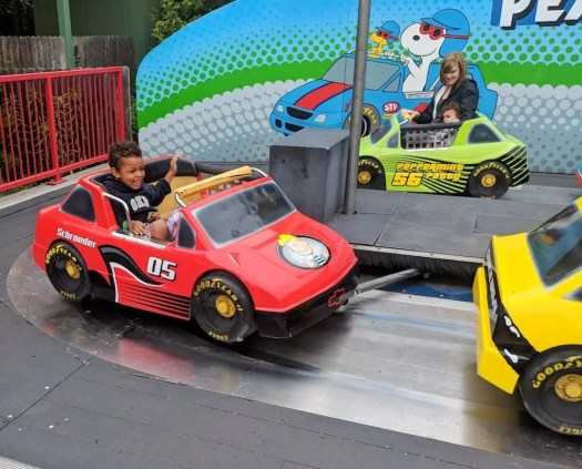 Make GREAT Plans at Canada's Wonderland — Racing Around on the Snoopy Speedway