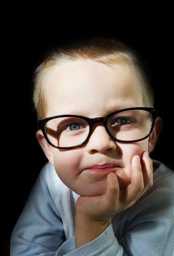 """Score 76 points in Scrabble with """"Ophthalmologist""""—The Canadian Ophthalmological Society See the Possibilities—Kid With Glasses"""