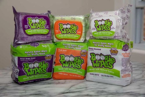This Season's the Type for Some Help from Boogie Wipes! — Set of Boogie Wipes