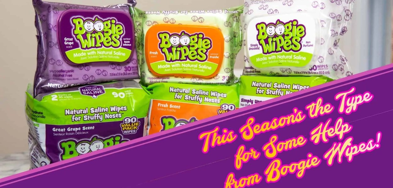 This Season's the Type for Some Help from Boogie Wipes! (Featured Image)