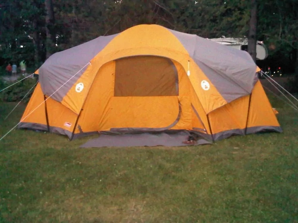 For the Love of Camping, Part One — An Intergenerational Tale of Transformation — Our Coleman Tent, circa 2011