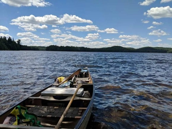 For the Love of Camping, Part Two—A Man and the Mountain that CHANGED Him.—Canoeing on Lake Opeongo
