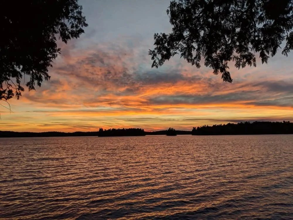 The 2019 200 — Because if YOU Don't Get it Done, Who Will? — Algonquin Park Sunset