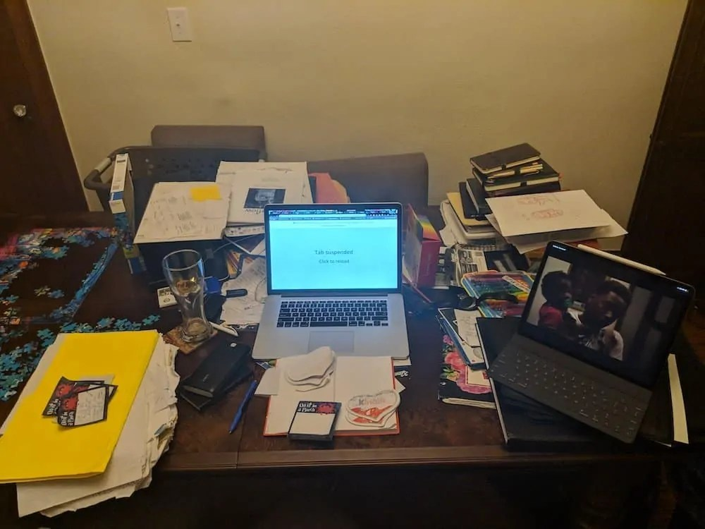 The 2019 200 — Because if YOU Don't Get it Done, Who Will? — The Mess That Is My Desk