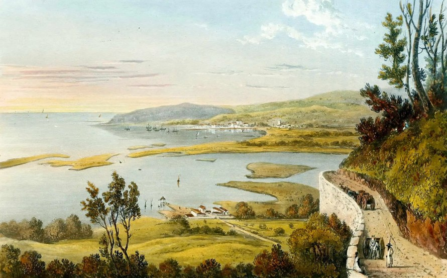 """Live from the 3.5, 2019 — Chapter 3 — """"Where You From?"""" — Why 'Black Canadian' isn't JUST ONE THING. — montego-bay-painting-landscape-in-jamaica"""