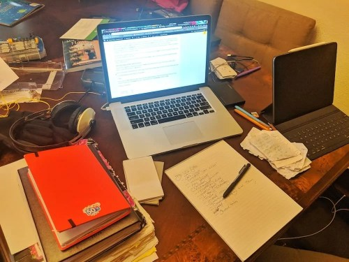 The Life and Times of Casey Palmer — The State of the #BloggerLife, February 2019 — Do Less Better. — A Desk Full of Work, March 2019