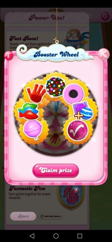 Casey's Corona Chronicles — Candy Crush Saga Booster Wheel Jackpot
