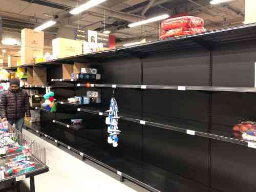Casey's Corona Chronicles — How to Outlast Your Kids in the Midst of a Global Pandemic — Empty Grocery Store Shelves