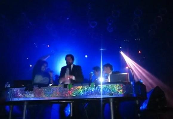 A shot of the DJs at HoHoTO 2010.