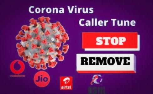 CoronaVirus Caller Tune - How to Deactivate or Remove [Working]