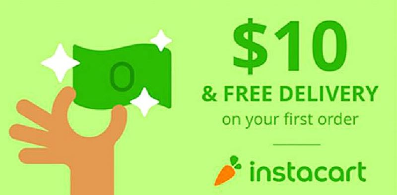 Instacart Promo Code, Coupons for $10 + Free Shipping (2018)