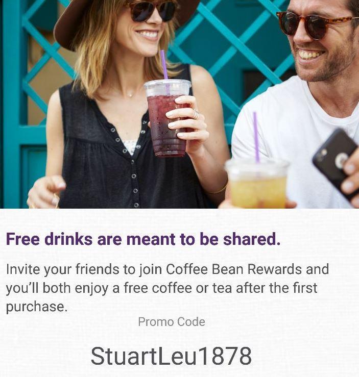 Coffee Bean & Tea Leaf Promo Code: One Free Drink at CBTL (2018)