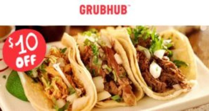 grubhub coupon tacos