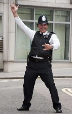 Dancing Cop - Cashflow Cop Police Financial Independence Blog