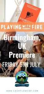 Pinterest - Playing with FIRE documentary, Birmingham - Cashflow Cop Police Financial Independence