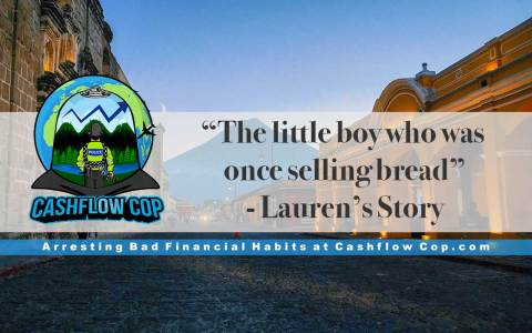 Humans of FI - Lauren's Story - Cashflow Cop Police Financial Independence