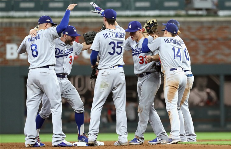 Dodgers Defeat Braves
