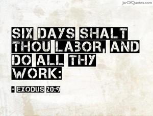 six-days-work