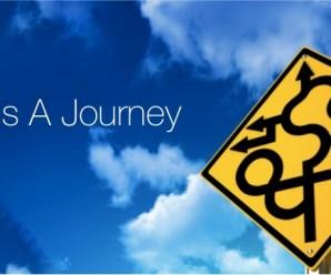 It's a journey