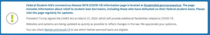 Covid Stimulus and Money (Nelnet)