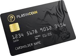 Platincoin Kreditkarte