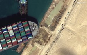 106860503 1616856551332 05 close up of excavation around bow of ever given ship suez canal 27march2021 wv3 scaled
