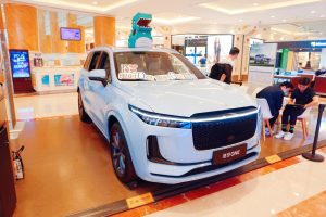 106920228 1627864702758 gettyimages 1233629782 China Smart Electric Car Li One scaled
