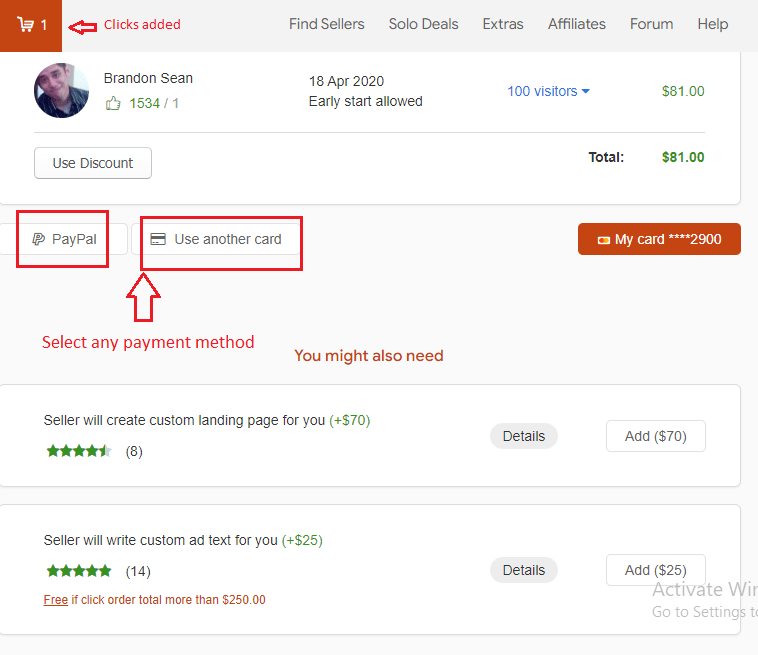 buy - How to buy Solo Ads from UDIMI