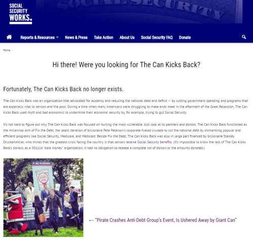 The Can Kicks Back's new website!