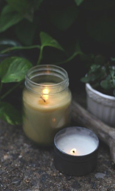 Mother's Day DIY- Citronella Candles