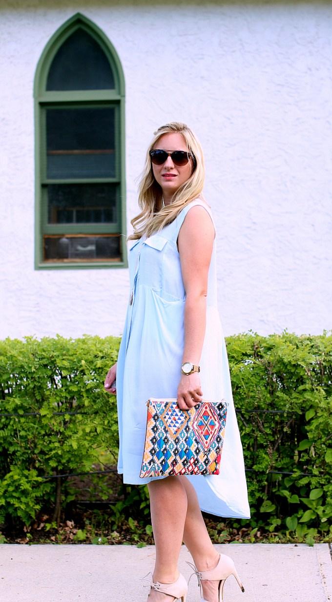 M+M Blue Dress 1