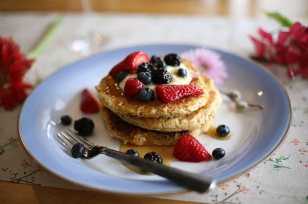 Ricotta Cornbread Hotcakes