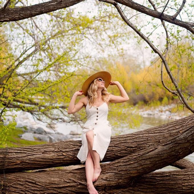Positano Linen Beach Dress