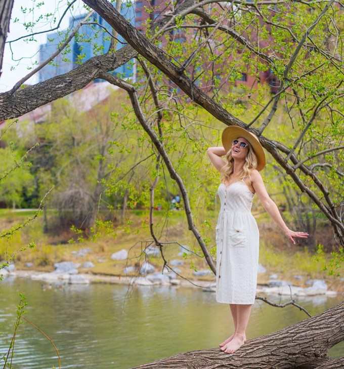 Positano Linen Dress