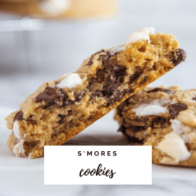 S'mores Cookie Recipe - Cashmere & Cocktails