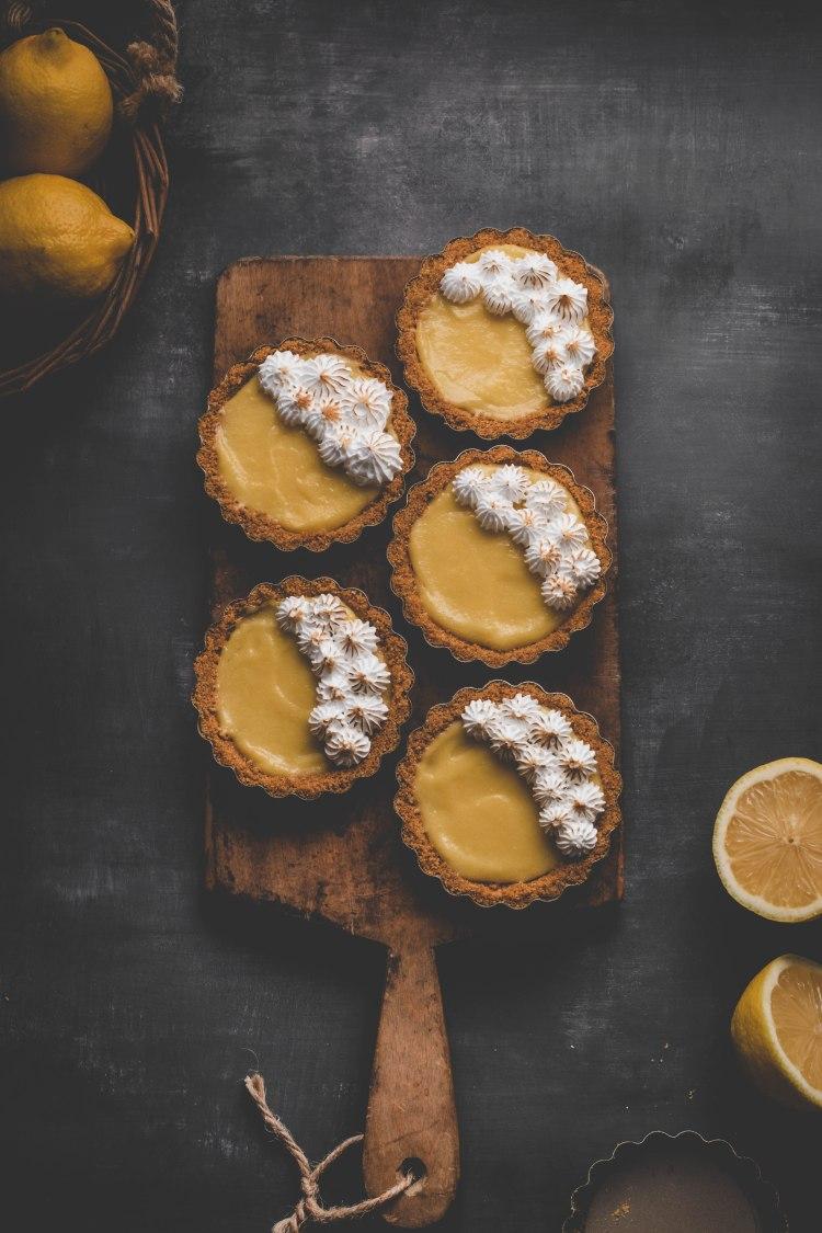 Mini Lemon Meringue Tart Recipe - Cashmere & Cocktails