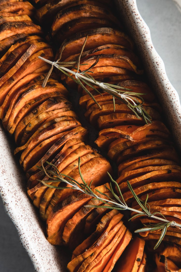 Shingled Sweet Potato Recipes by Cashmere & Cocktails